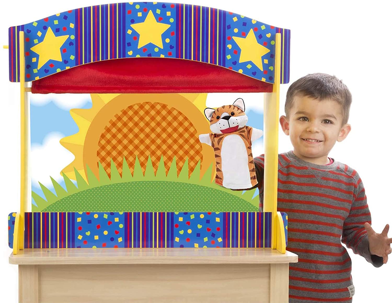 Melissa and Doug Tabletop Puppet Theatre