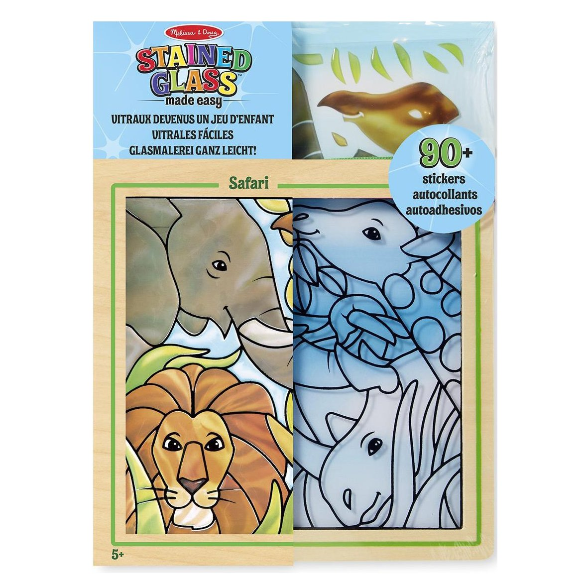 Stained Glass Made Easy Activity Kit, Safari