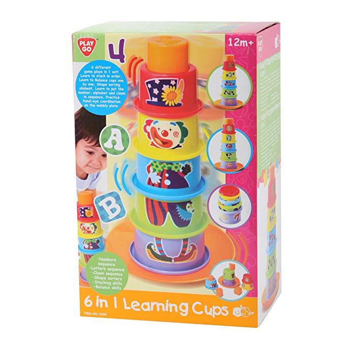 Play Go 6 in 1 Learning Cups