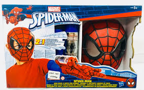 Spiderman-Masque et Dispositif Lanceur de toiles