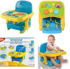 Musical Baby Booster Seat Winfun