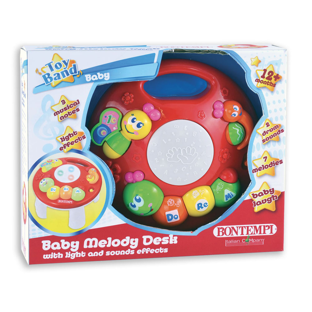 Baby MelodyDesk with light and sound effects