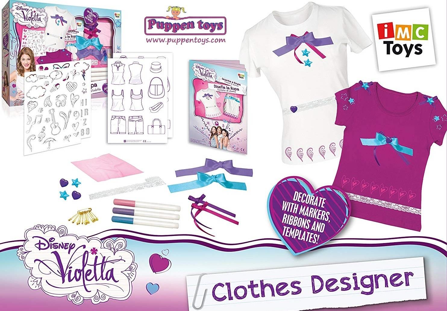 cloths designer disney violetta