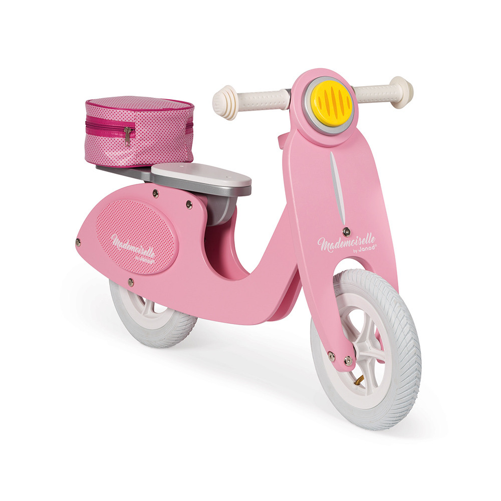 DRAISIENNE SCOOTER ROSE MADEMOISELLE
