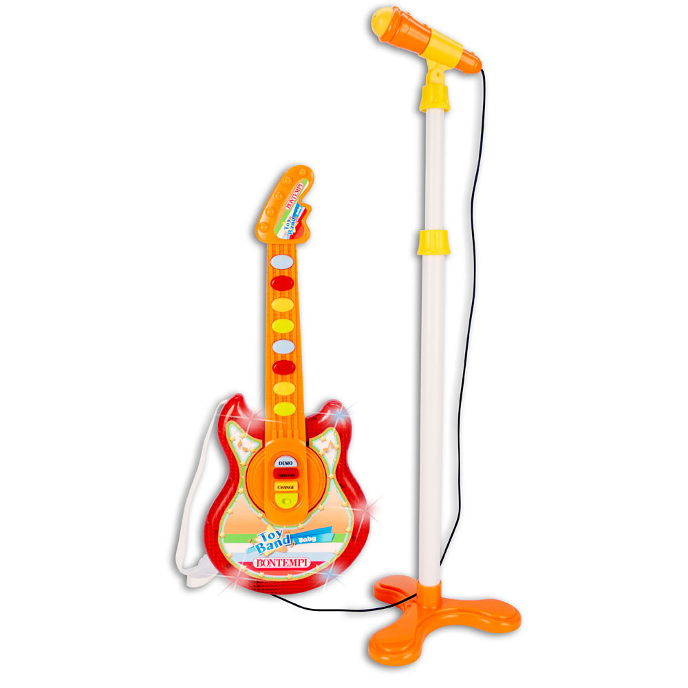 Baby Rock Guitar and Microphone