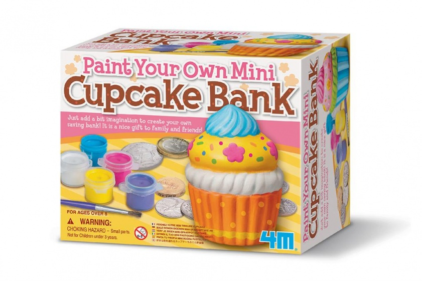 Paint your Own Mini Cupcake bank