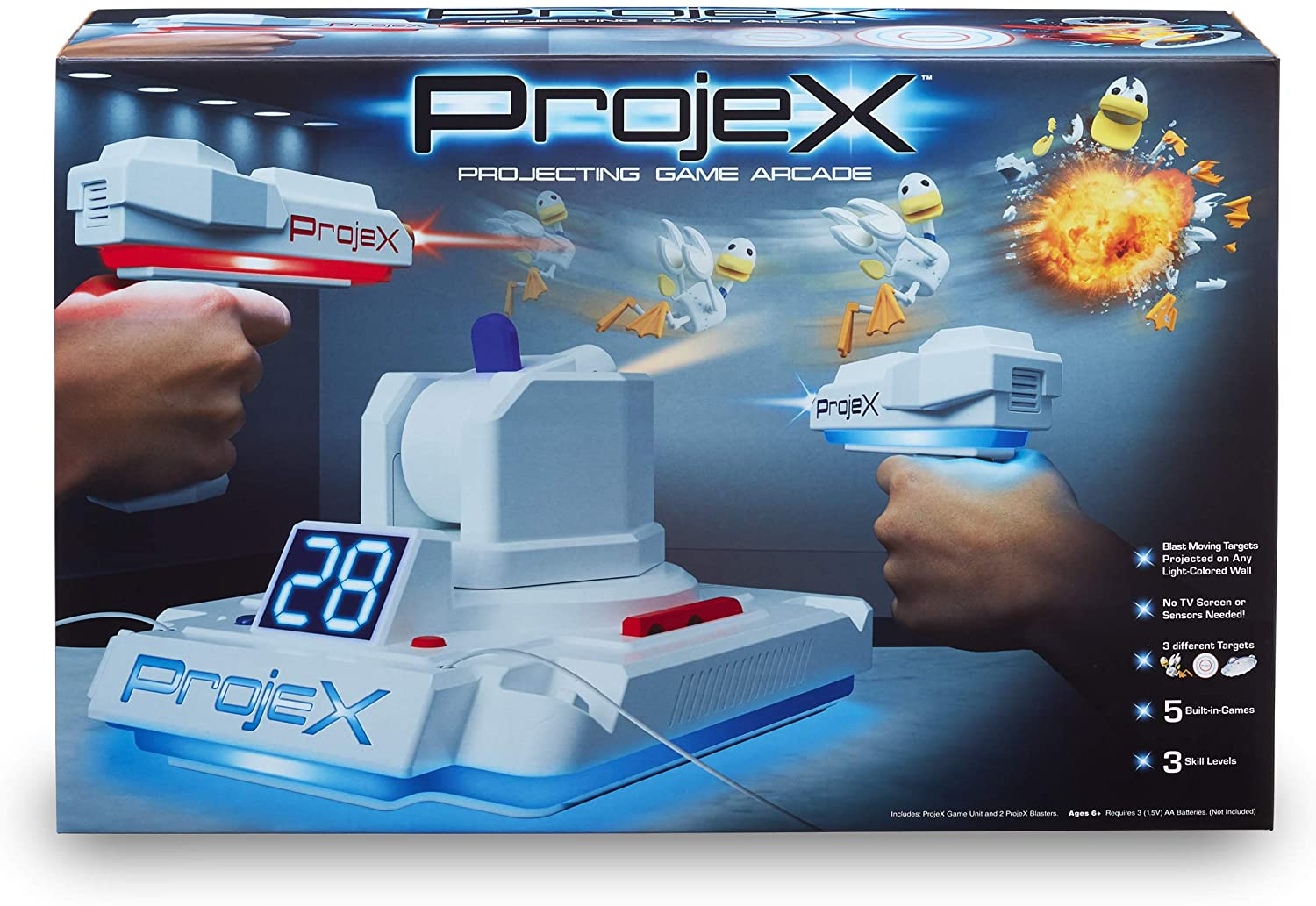 PROJEX Image Projection Arcade Game